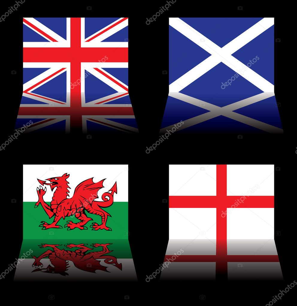 great britain flags u2014 stock vector nicemonkey 3423522