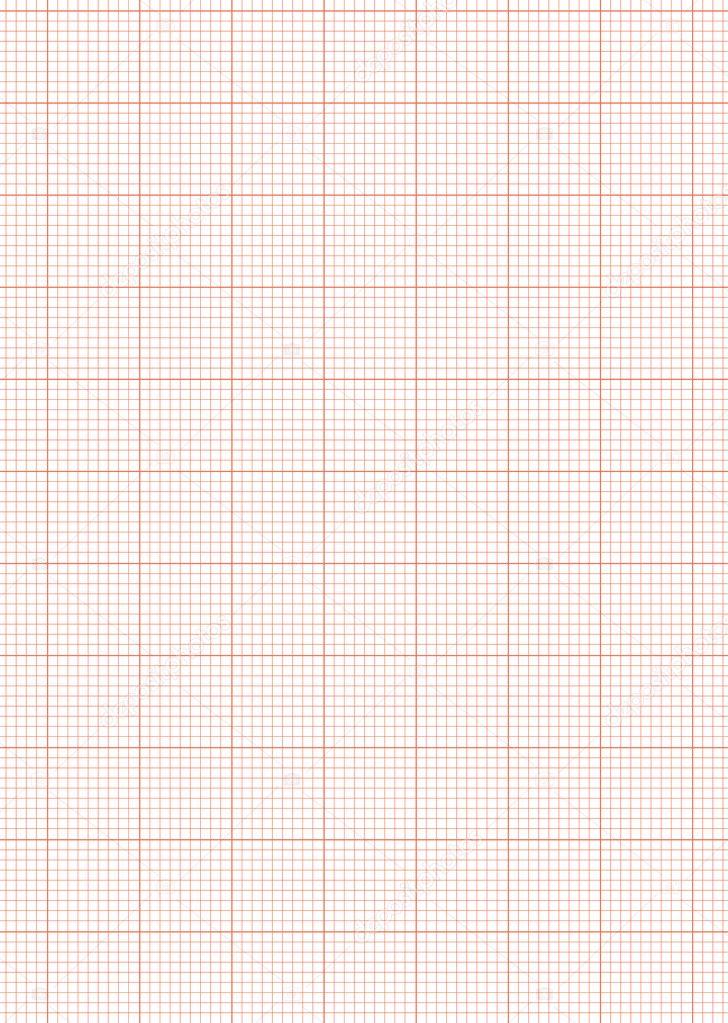 Graph Paper Wallpaper Graph Paper A4 Sheet Red Stock