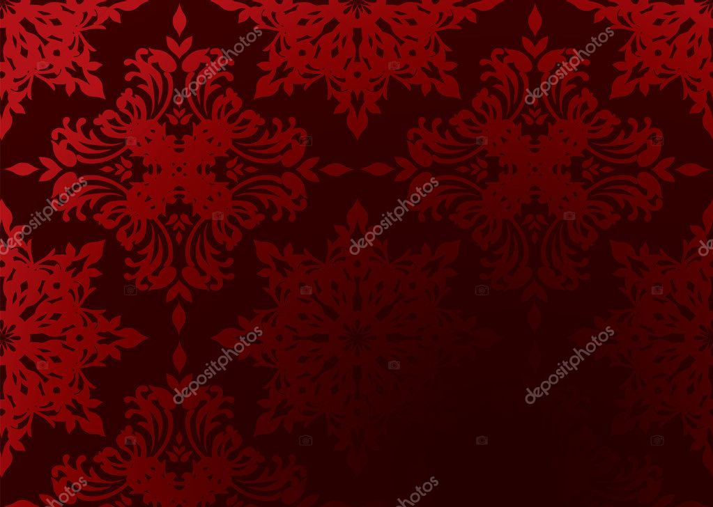 Bright Red Gothic Wallpaper With Gradient Design And Copy Space Vector By Nicemonkey
