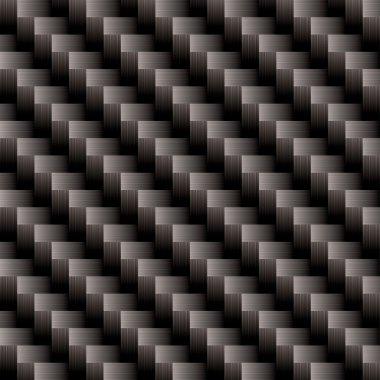 Carbon fiber cross weave