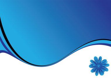Blue swish