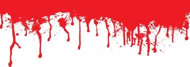 Blood splat dribble
