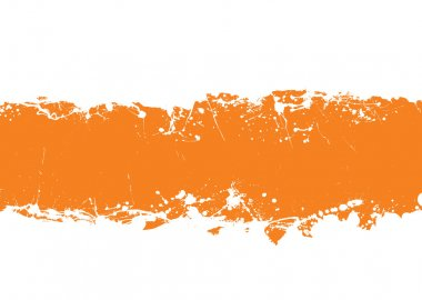 Grunge strip background orange