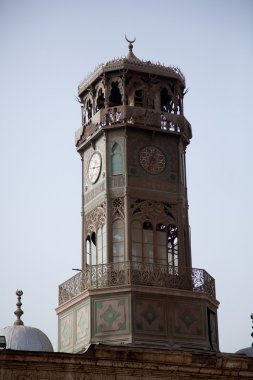 Old clock tower given by french king