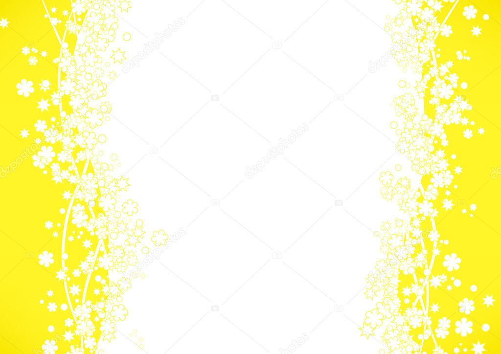 yellow frame background stock vector 2768198 - Yellow Frame