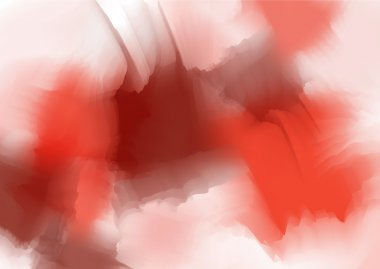 Red aquarel background
