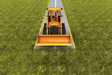 Road consrtuction
