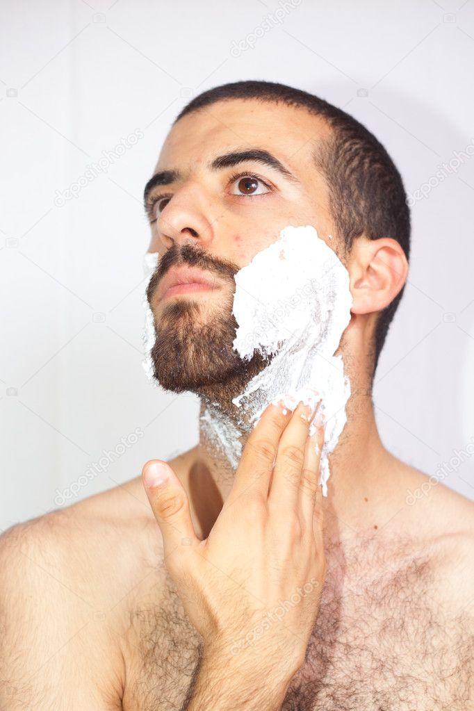 att raka sig