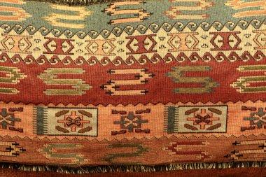 Armenian carpet as background