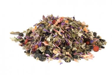 Heap of herbal tea