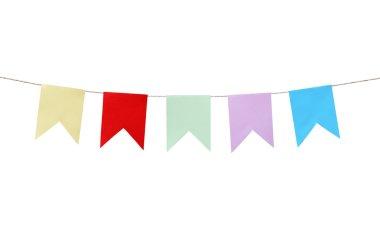 Motley Paper Flags