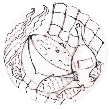 Still Life fishmonger