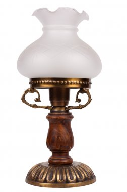 Lamp isolated on a white background.