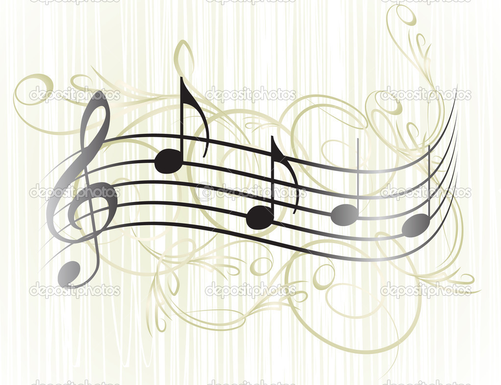 Music notes for your design.