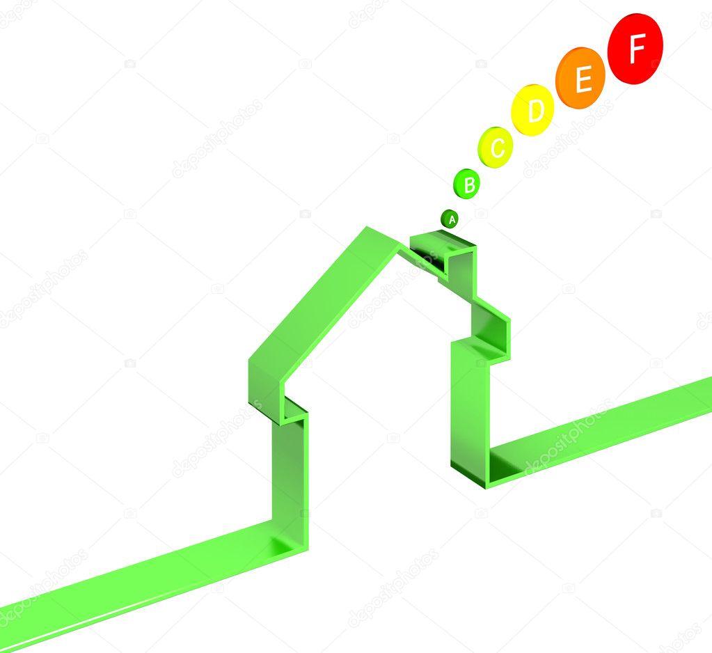 Classe energ tica da casa fotografias de stock jukai5 2781525 - Classe energetica casa g ...