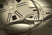 Fotografie Aged vintage 8mm film movie