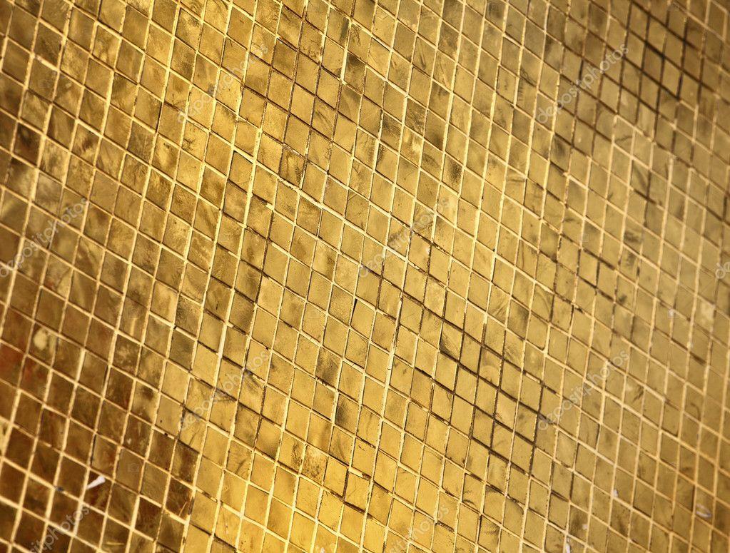 Goldene Fliesen — Stockfoto © jukai5