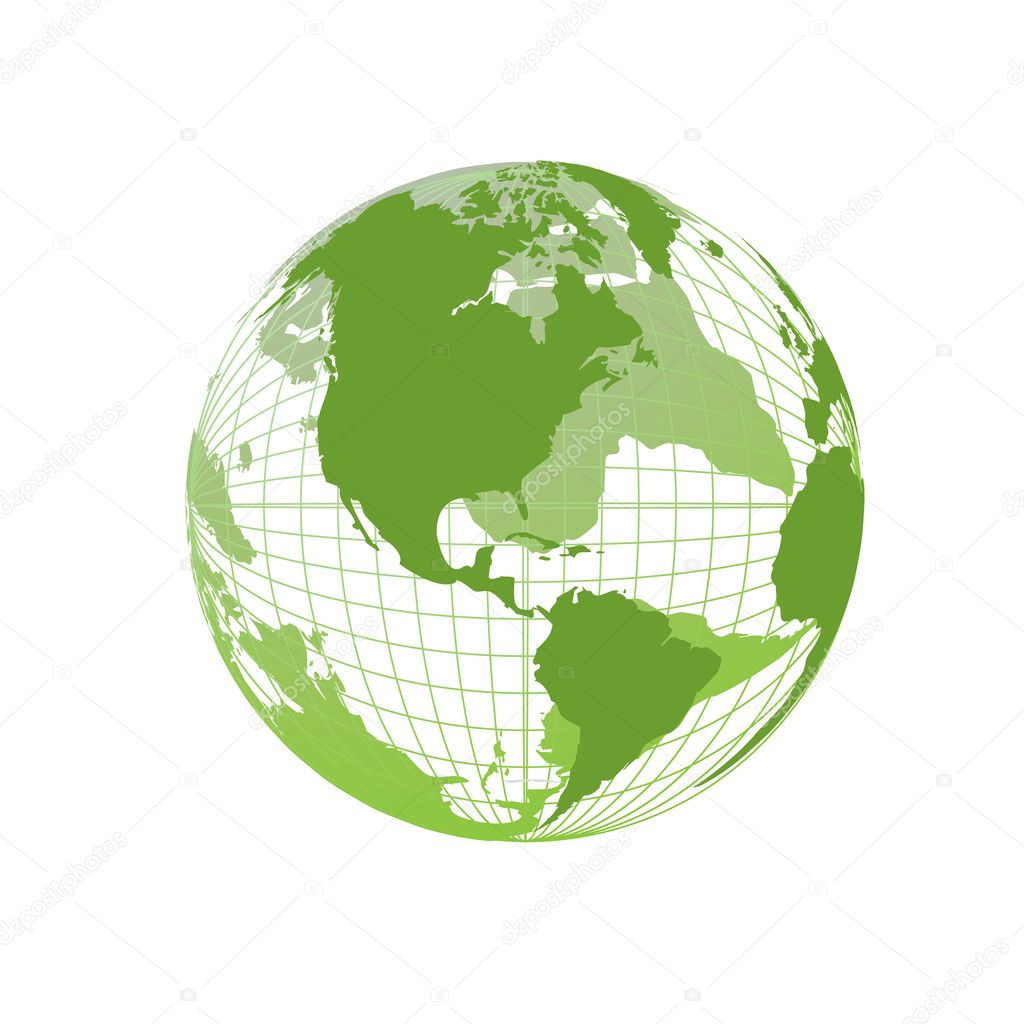 World map 3d globe stock vector kudryashka 3477235 world map 3d globe stock vector gumiabroncs Image collections
