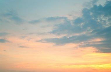 """Картина, постер, плакат, фотообои """"закат на облачном небе """", артикул 3601358"""