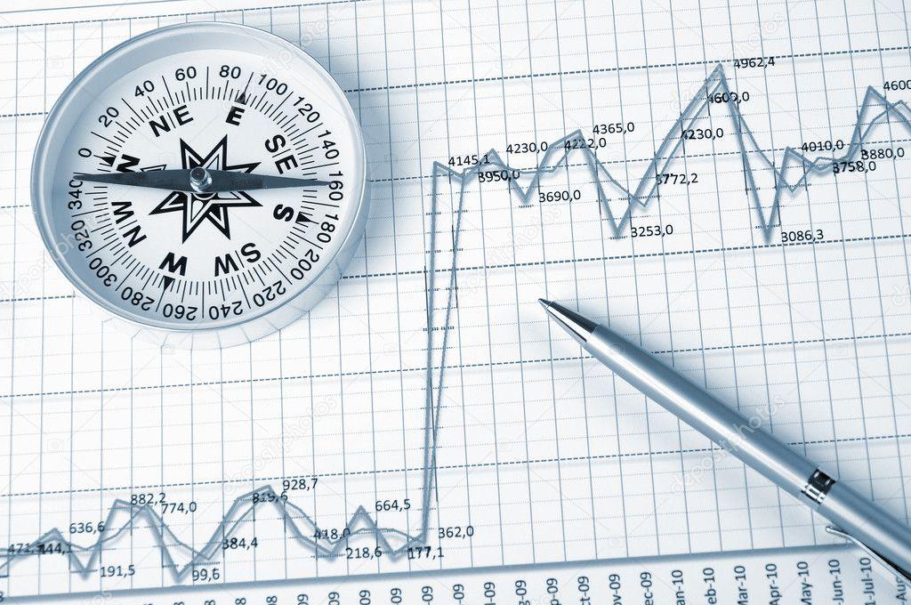 Grafiken und Diagramme — Stockfoto © SergeyNivens #3637824