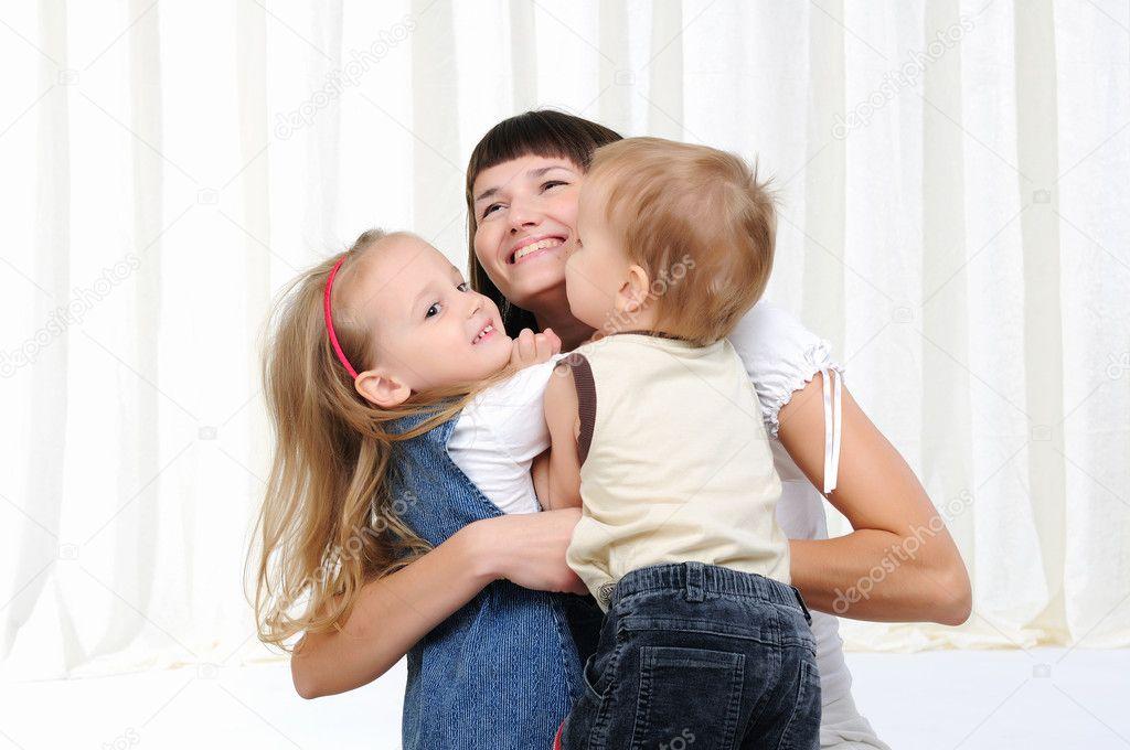 онлайн и сын мама дочь