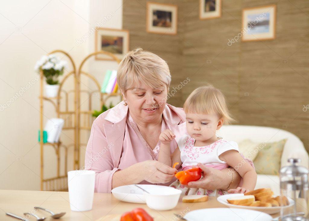 Alimentacion en casa