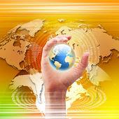 globale Technologie-Abbildung