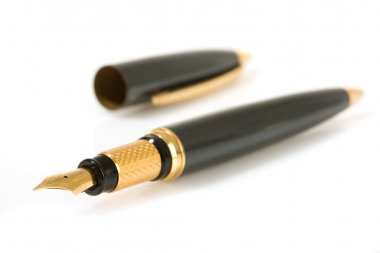 Fountain writing pen.