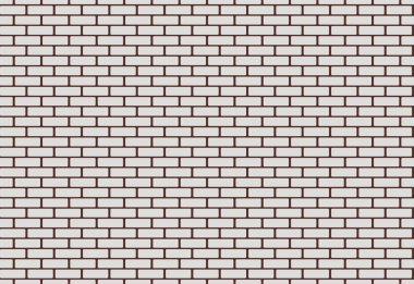 Seamless vector texture with brickwall