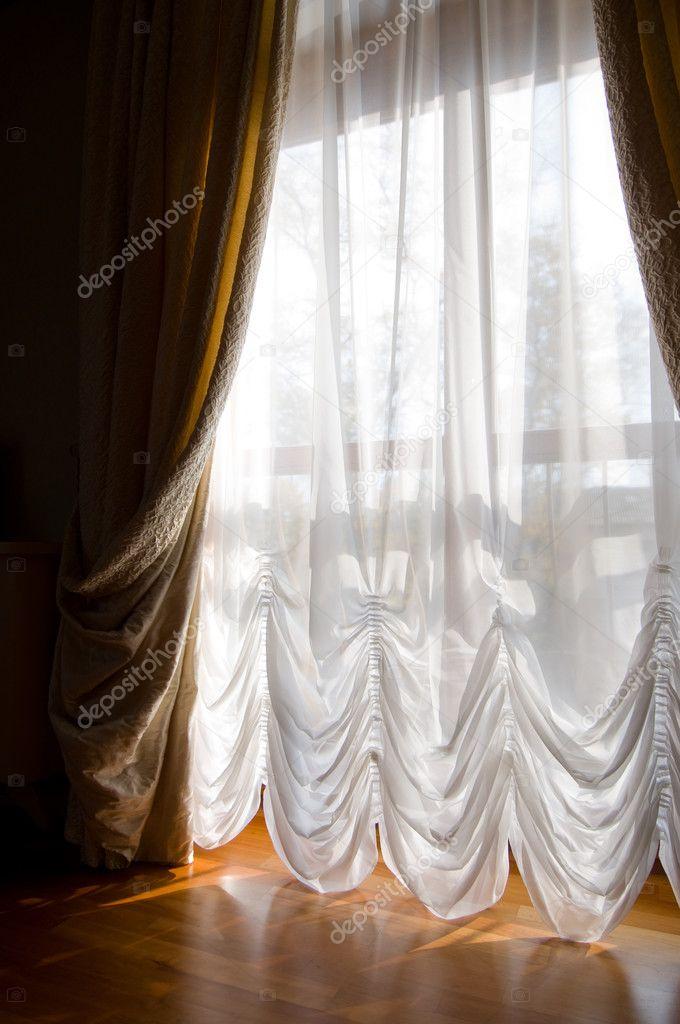 gordijnen maken comfort — Stockfoto © artfotoss #3724497