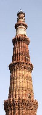 Qutb Minar tower panorama, India