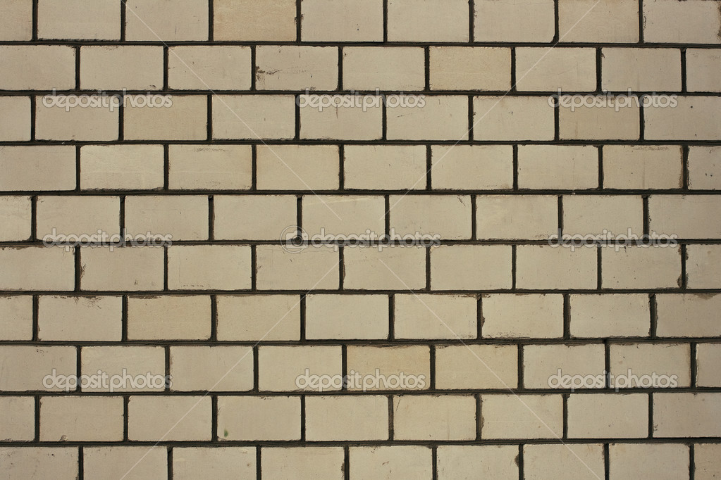 White painted blank brick wall backgroun stock photo for Four blank walls
