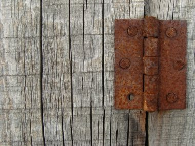 Rusty hinges