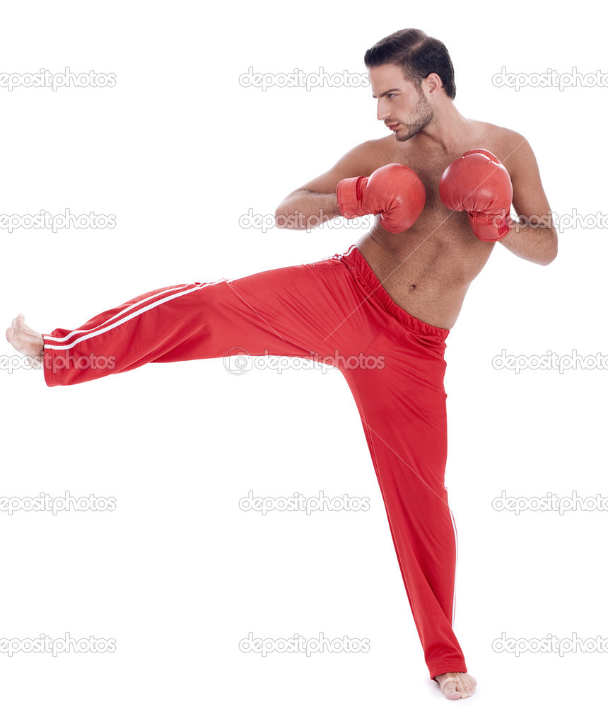 Kickboxing men