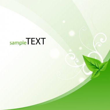 leaf symbolising safe ecology
