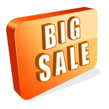 Illustration of icon of big sale