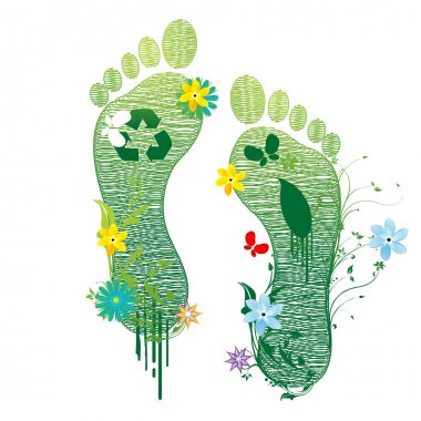 Recycle feet