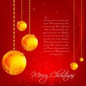 abstraktní vánoční přání
