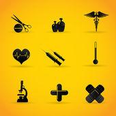 Photo Medical icons