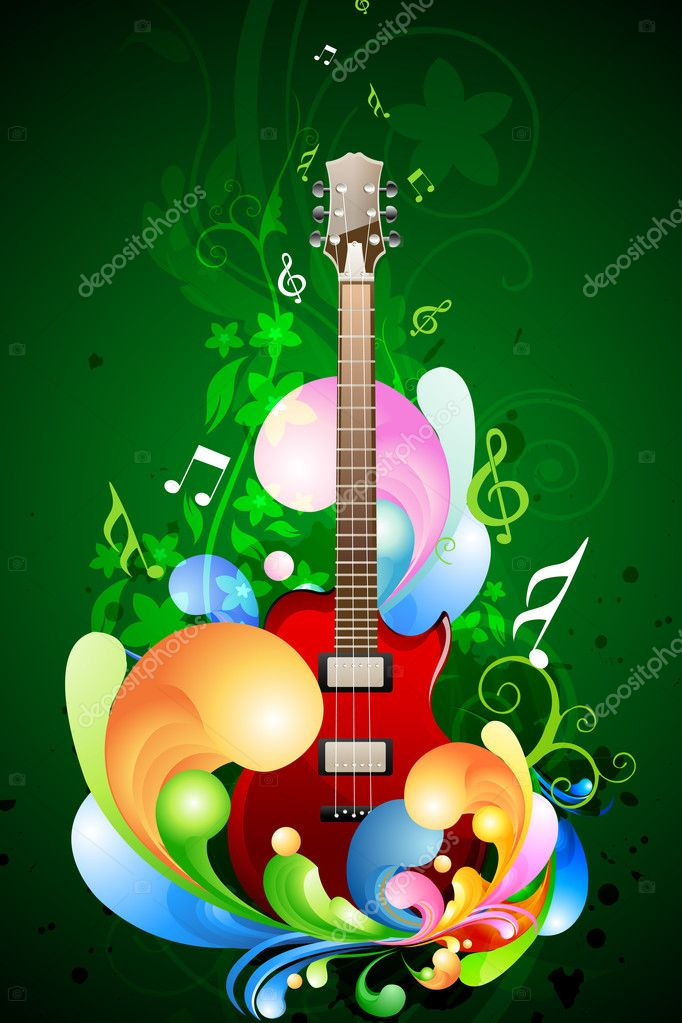 Colorful Music Card Stock Photo C Get4net 4563358