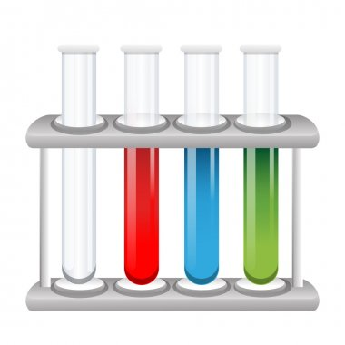 Colorful test tubes