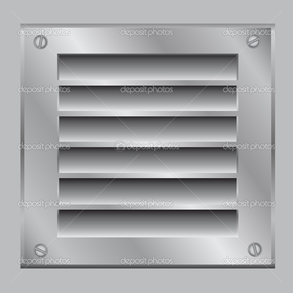Ventilations galler — Stock Vektor © romvo79 #2807932