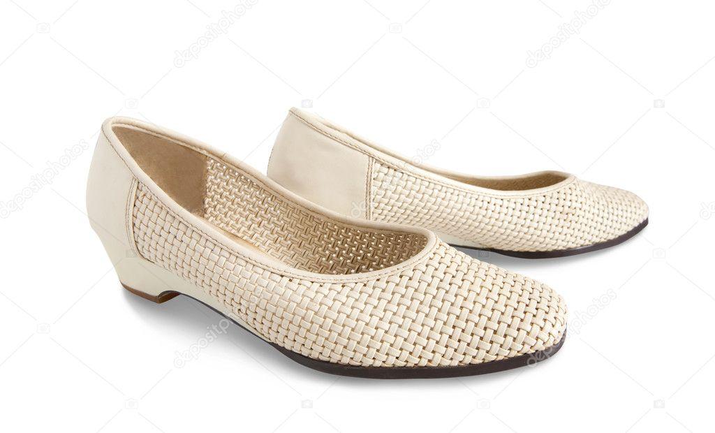 2 Scoops Shoes French Vanilla Girls Lambskin Ballet Flat