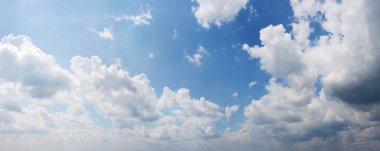 Panoramic view Cloudy sky