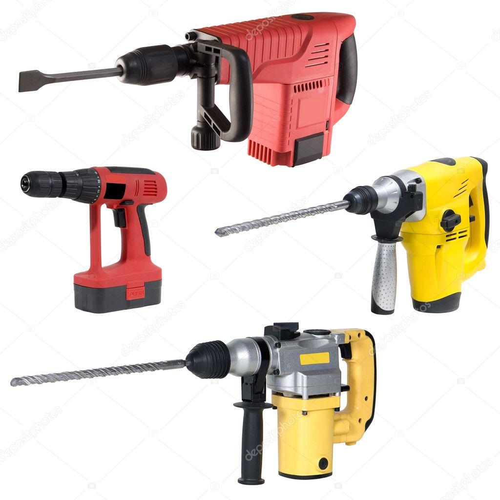 Electric tools set — Stock Photo © ottoshtekker #2994652