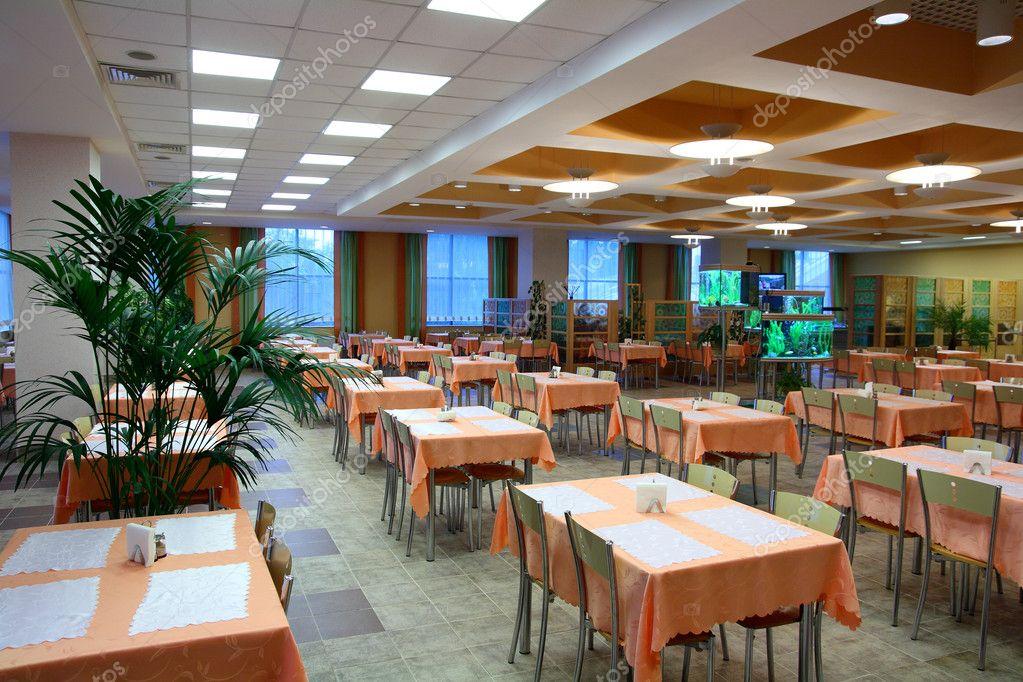 salón comedor restaurante — Fotos de Stock © Kokhanchikov #2939449