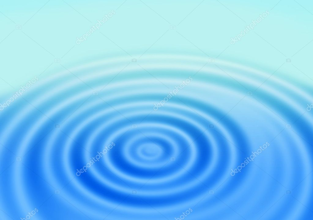 Rings of a water ripple