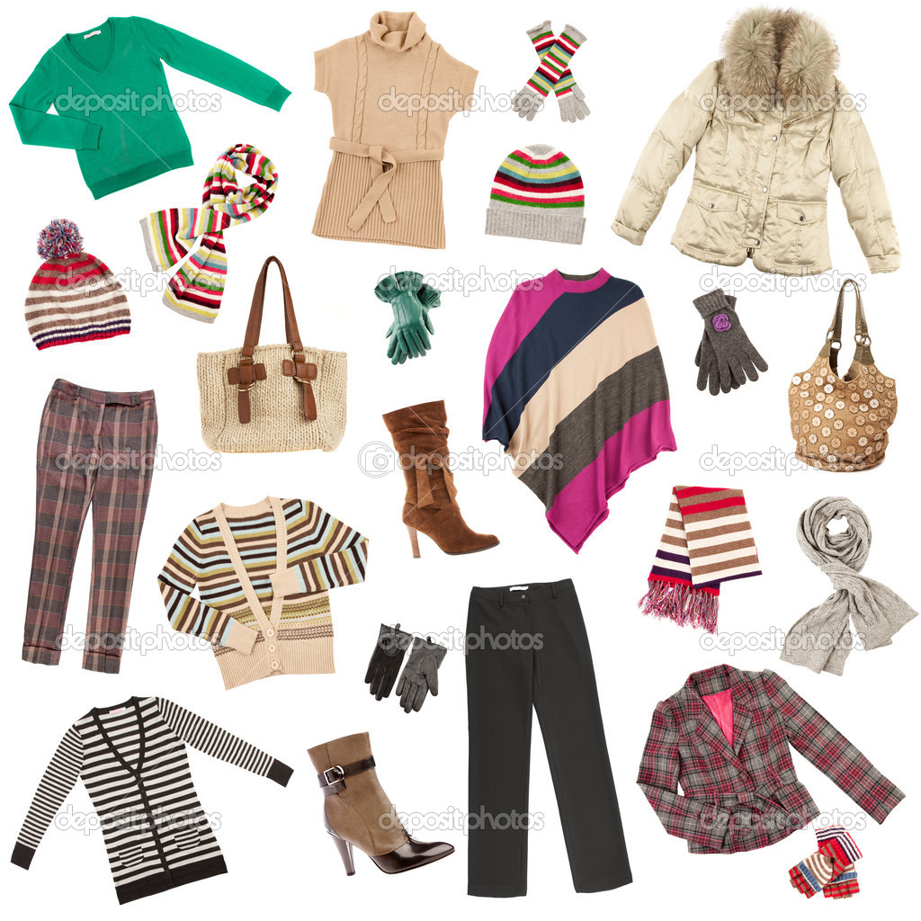 lady s clothes winter warm clothes stock photo cookelma 3858338