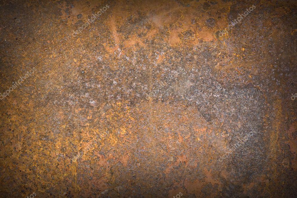 Rusty metal surface texture close up photo