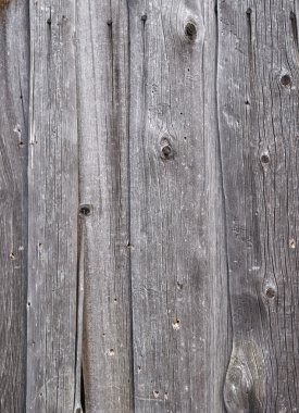 Weathered gray wooden boards background